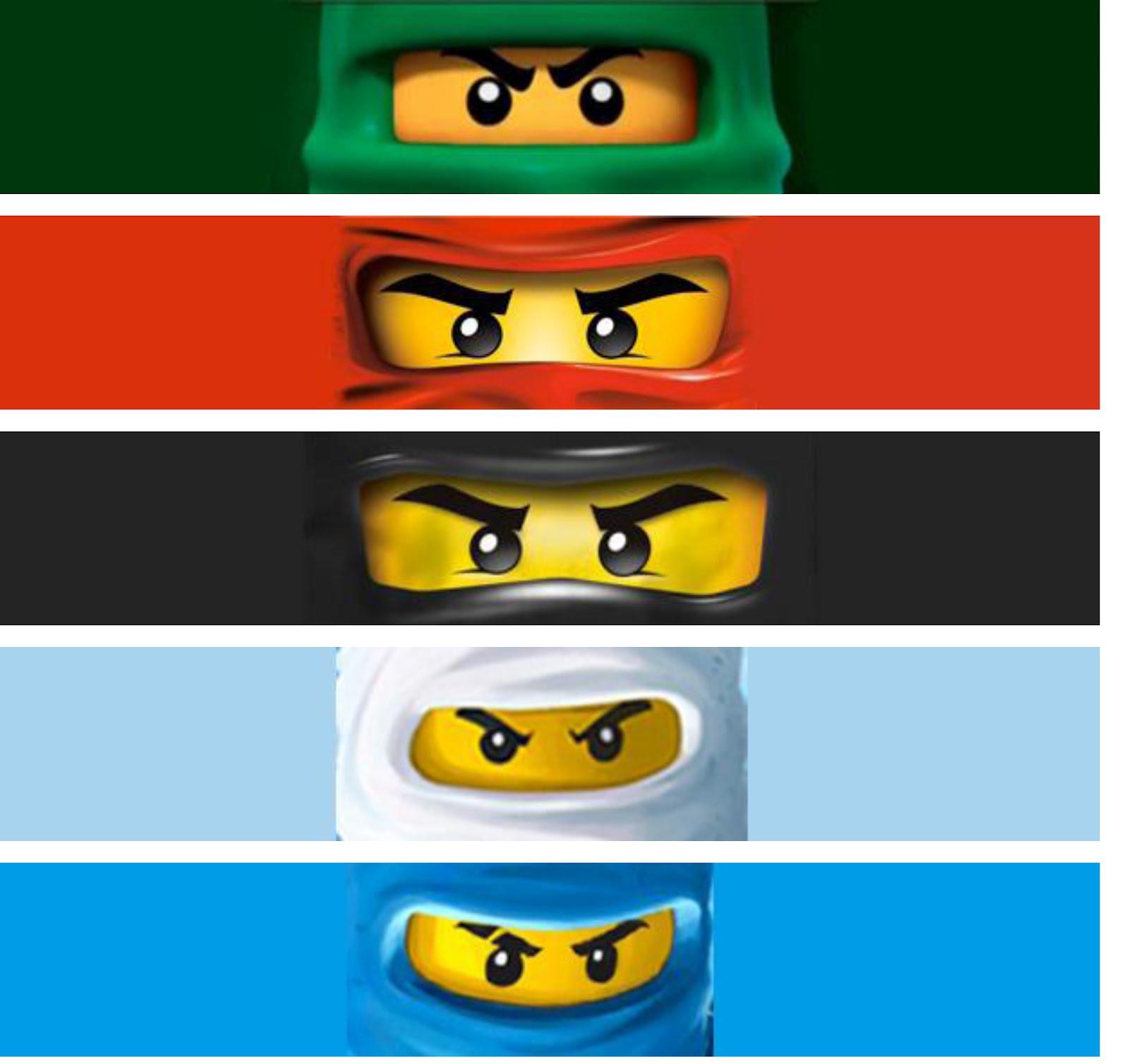 Free ninjago eyes coloring pages